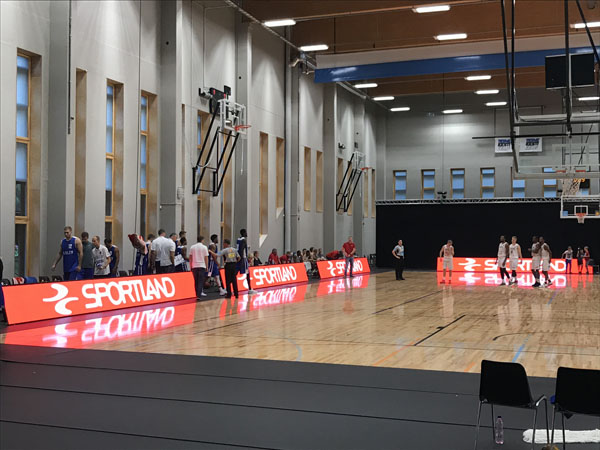 Bako P8 LED stadium screen debut in Estonia