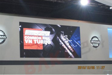 P6 indoor rental LED display for motor show