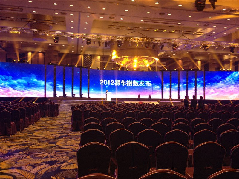P4.81 indoor stage rental LED screen in China