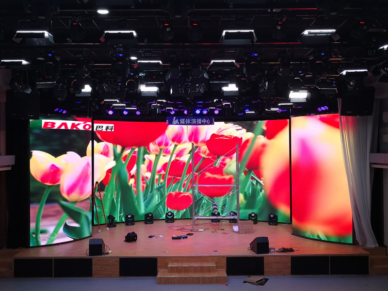 BAKO P2.5 Electric Open-close LED Display Screen in Hebei